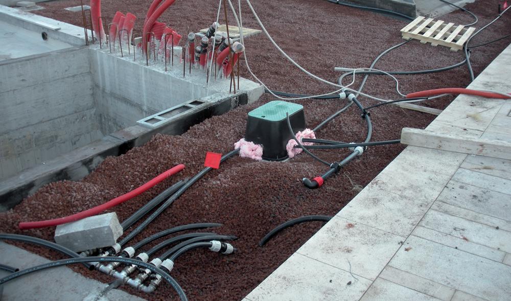 Sistema di irrigazione installato da Il Germoglio