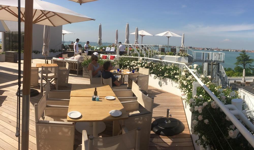 Hotel a Venezia terrazzo sul mare