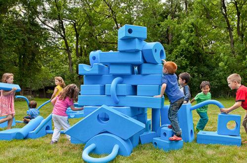 Nella nostra Area Giochi esterna arrivano i nuovi «Imagination Playground» thumb
