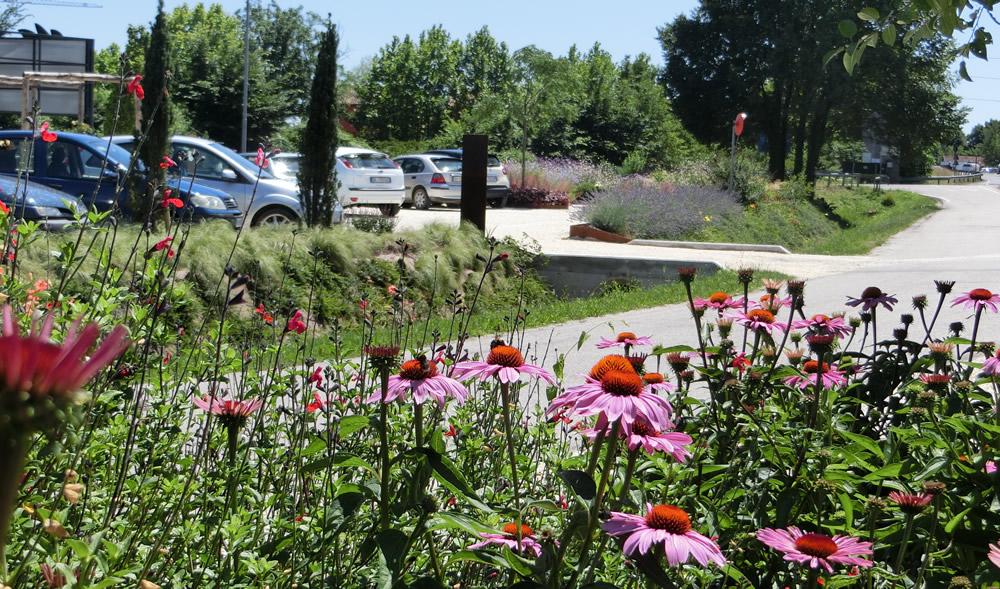 """""""Green Park"""" per la sede e per i clienti del Garden Center"""