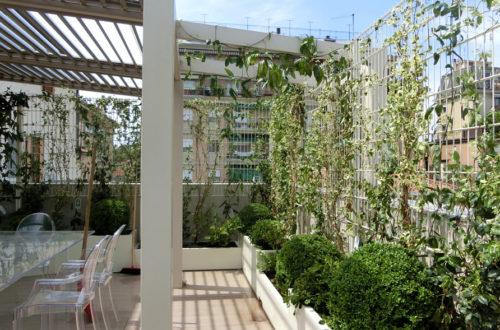 Terrazzo verde a Mestre (Venezia)thumb
