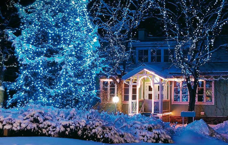 Illuminazione Esterna Natalizia : Come scegliere le luminarie natalizie blog garden center il