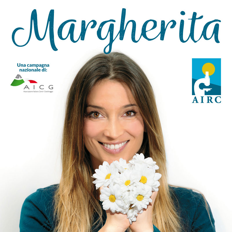 Margherita per AIRC 2019 Cover