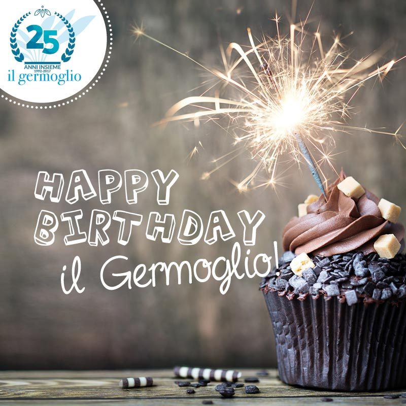 HAPPY BIRTHDAY GERMOGLIO! Cover