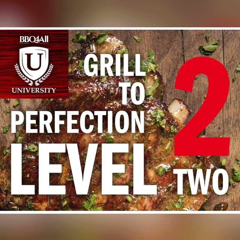 Corso cottura alla griglia – GRILL TO PERFECTION Level 2 Cover