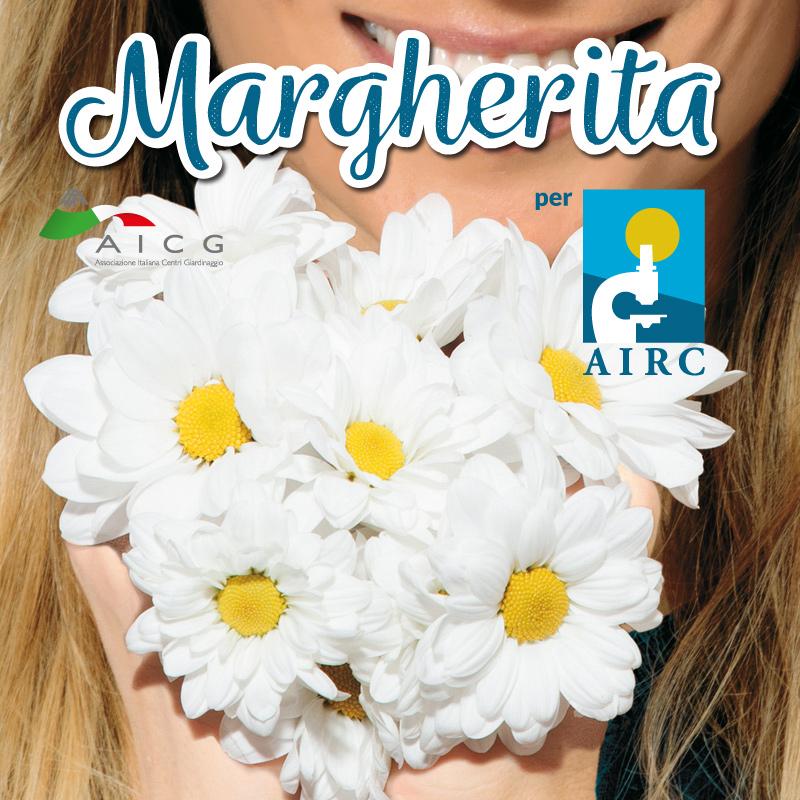 Margherita per AIRC 2018 Cover