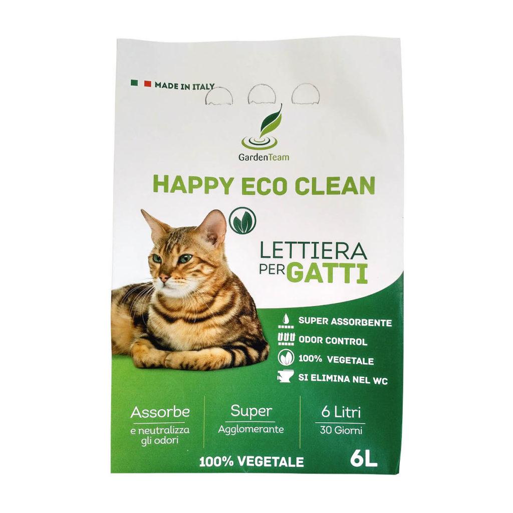 Lettiera Happy Eco Clean 6l Cover