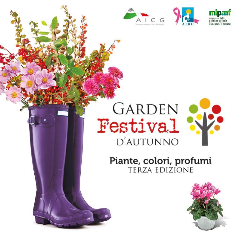 Garden Festival d'Autunno 2018 Cover