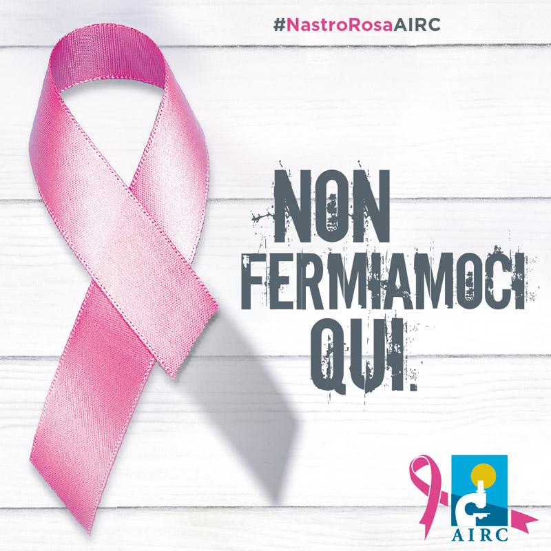 Nastro rosa AIRC 2018 Cover