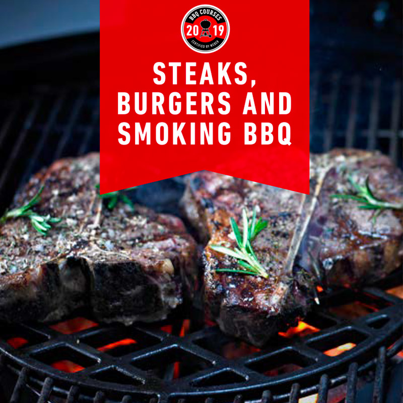 Corso BBQ Weber – Steaks, burgers and smoking BBQ Cover