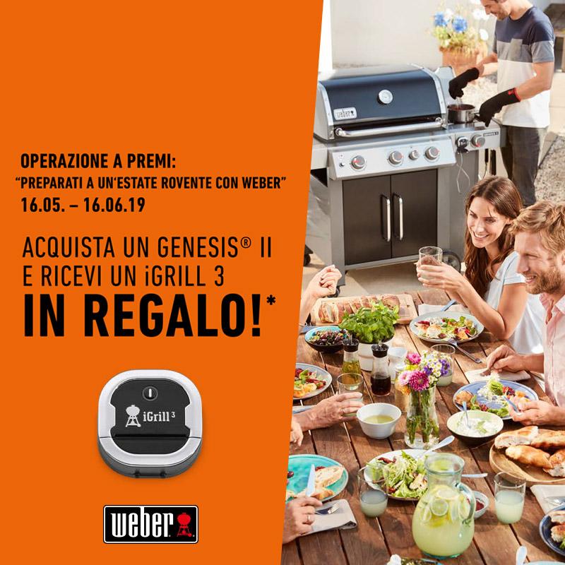 Weber – operazione a premi estate 2019 Cover