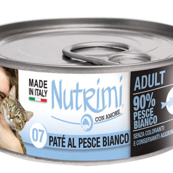 Nutrimi 07 Adult Paté al Pesce Bianco
