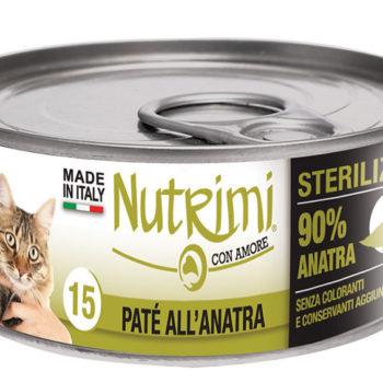 Nutrimi 15 Sterilized Paté all'Anitra