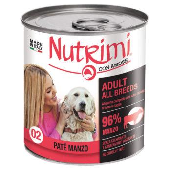 Nutrimi 02 Adult Paté al Manzo