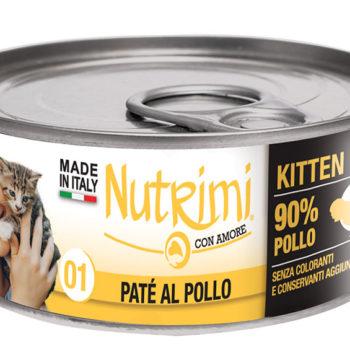 Nutrimi 01 Kitten Paté al Pollo